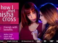 How I Met Misha Ep 2 - 2 Hot Girls for Cum Party VirtualRealPorn Miguel Zayas Lilyan Red VR porn video vrporn.com