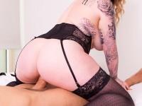My Birthday Present - Busty Girlfriend Gives Theesome VirtualRealPorn Tina Kay Harmony Reigns VR porn video vrporn.com