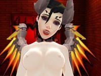 Mercy CowGirl Finale – Game Girl from Waifu VR Sex Simulator Lewd FRAGGY CGIGirl VR porn video vrporn.com