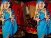 Game of Moans - The Wild Side of Khalessi WANKZVR Elsa Jean VR porn video vrporn.com
