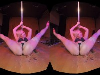 Private Dancer - Heather Heavens Striptease HologirlsVR Heather Heavens VR porn video vrporn.com