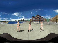 [VR] [360 °] Ship this Three Lamb RNA HentaiGirl vr porn video vrporn.com virtual reality