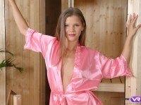 Sauna Experience with Teen Model Sarah Kay TmwVRnet Sarah Kay VR Porn video vrporn.com