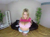 Katarina Casting - Big tits Blonde Babe vr porn vrporn.com
