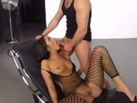 Director's Chair - Fishnet Stockings VR Fuck VirtualPornDesire Chad Rockwell vr porn video vrporn.com virtual reality