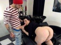 Special Hairdresser - BBW Extra Service vr porn vrporn.com