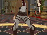 Mikasa's New Thang VRAnimeTed vr porn game vrporn.com virtual reality