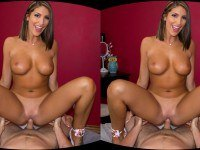GFE - August Ames WANKZVR August Ames VR porn video vrporn.com