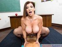 My First Sex Teacher - Sara Jay Big Tits MILF Sex NaughtyAmericaVR Sara Jay Ryan Driller vr porn video vrporn.com virtual reality