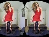 First Date Gone Wild - Victoria Chase VR Lap Dance HologirlsVR Victoria Chase VR porn video vrporn.com