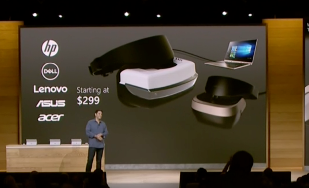 Microsoft Announces $299 VR Headsets for Windows 10 vrtalk.com VR Porn Blog virtual reality