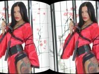 Caressing Hot Body With Nunchucks TmwVRnet Amanda Black vr porn video vrporn.com virtual reality