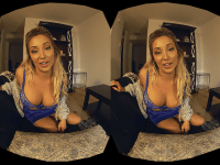 Evening With Your Girlfriend HologirlsVR Sasha Leigh vr porn video vrporn.com virtual reality
