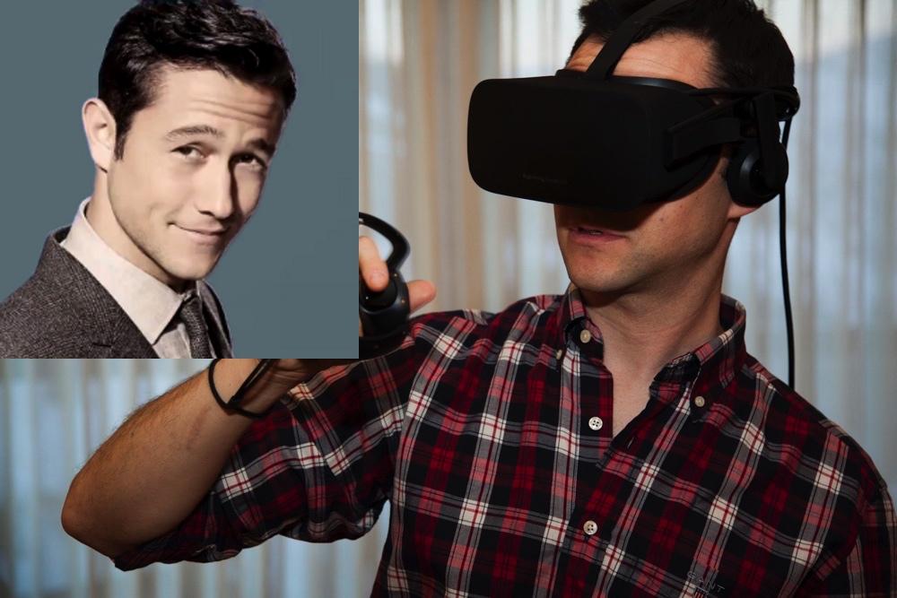movie star Joseph Gordon-Levitt Gets VR