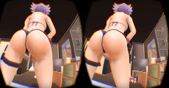 Would You Like To See a Sexy VR Anime Girl Dancing In Your Room? Lewd Fraggy VR Porn Blog virtual reality