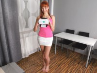 Chelsy Sun - 2nd Solo - Innocent Redhead Teen Shows Off Her Pussy Czechvr vr porn video vrporn.com virtual reality