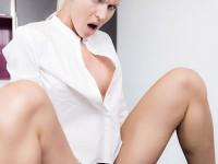 VR Hotel - XXX Room Service from this Hot Blonde VirtualRealPorn Manu Falcon Lynna Nilsson VR porn video vrporn.com