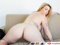 Follow Me And My Tempting Pussy To Experience A Mind-Blowing Orgasm VirtualRealPorn Harmony Reigns VR porn video vrporn.com