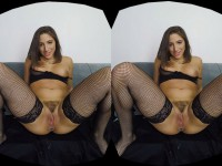 The GFE Collection - All For You - Smoking, Butt Plug, Stockings HologirlsVR Abella Danger VR porn video vrporn.com