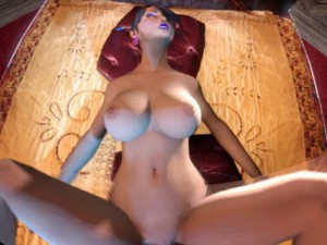 Fantasy Style Girl - CGI Animated Missionary Position Sex guhhyuk CGIGirl vr porn video vrporn.com virtual reality