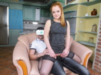 Alex Ginger Hardcore - Redhead Whore is Back for MoreBlanche Bradburr - Solo Czech Blonde with a Pink Dildo Czechvr vr porn video vrporn.com virtual reality
