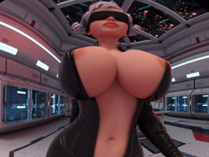 Horned Walking Front - Animated Sexy Babe for VR Fapsphere CGIGirl VR porn video vrporn.com