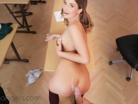 Fucking Her Way Through College - She Does Anything for an A VRBangers Nicole Vice VR porn video vrporn.com