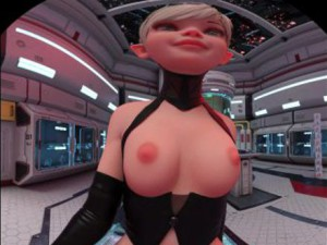 Horned Walking Front 2 - Topless Sexy Elf VR Fapsphere CGIGirl VR porn video vrporn.com