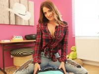 Study Break - Hot Student On Top VRBangers Nicole Vice vr porn video vrporn.com virtual reality