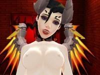 Mercy CowGirl Finale – Game Girl from Waifu VR Sex Simulator Lewd FRAGGY CGIGirl VR porn video vrporn.com