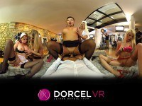 Be A Porn Star! VR Orgy with 5 French Porn Stars DorcelVR Kimber Délice Jessie Volt Anna Polina vr porn video vrporn.com virtual reality