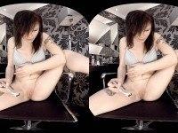 Clean Shave - Saphira's Silky Smooth Pussy Net69VR Saphira vr porn video vrporn.com