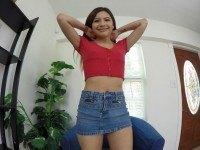 Zaya Likes To Play - VR Teen Masturbation VR3000 Zaya VR porn video vrporn.com