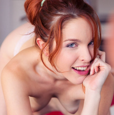 Amarna Miller smiles as she goes down on you vr porn pornstar vrporn.com virtual reality