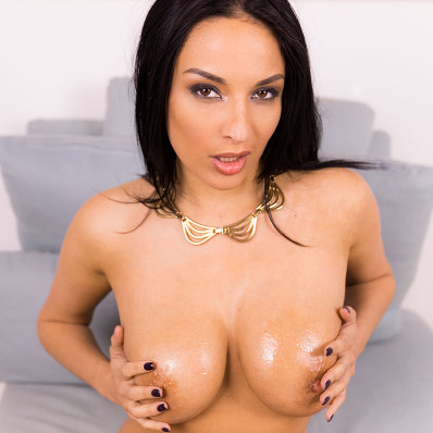 Anissa Kate touches her beautiful big breasts vr porn pornstar vrporn.com virtual reality