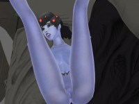 Widowmaker On The Bed - VR Hentai Encounter Lewd FRAGGY HentaiGirl VR porn video vrporn.com