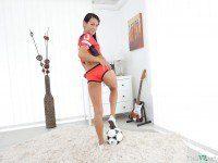 #1 Football Fan - Horny Lexi Dona VR Pussy Play TmwVRnet Lexi Dona VR Porn video vrporn.com