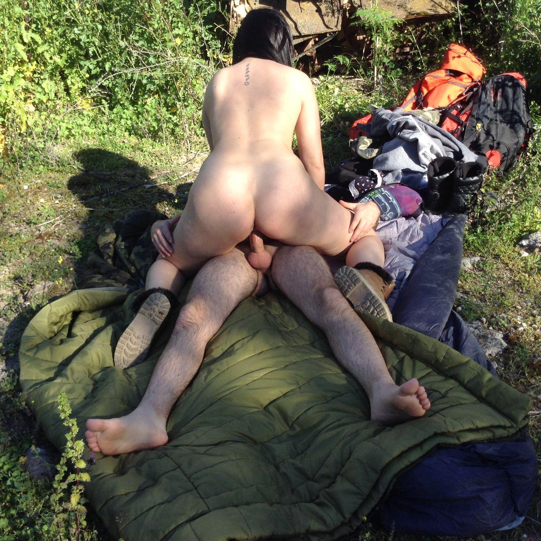 Outside porn