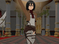 Mikasa's New Thang VRAnimeTed vr porn game vrporn.com virtual reality