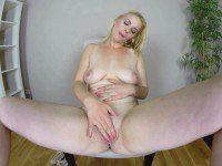 Ebba Sofie Casting - Horny Blonde VR Solo czechvr vr porn video vrporn.com