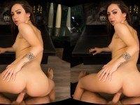 Stepdaughter Seduction - Teen Brunette VR Sex WANKZVR Lily Jordan VR porn video vrporn.com