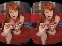 Casting Couch: Scarlett Moore - Red Head Babe Solo HologirlsVR VR porn video vrporn.com