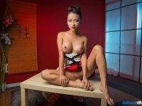 Geisha Go Anal - VR Asian Hot Babe Pussy Kat badoinkvr vr porn vrporn.com