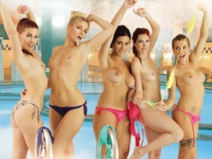 """Sauna """"Russian Style"""" Part 2 - Hardcore VR Orgy with Horny Girls VRBangers vr porn video vrporn.com virtual reality"""