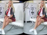 Whore of Halloween - Blonde School Girl Hottie VR Porno TmwVRnet Daisy VR Porn video vrporn.com