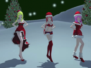 5 Days Of Christmas Thank You Scene Day 3 VRAnimeTed Hentaigirl vr porn video vrporn.com virtual reality