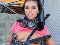 Zombie Slayers Origins WANKZVR Adriana Chechik vr porn video vrporn.com virtual reality