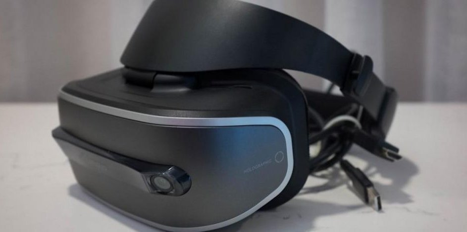 Lenovo Announces Its First VR Headset on Windows Holographic Platform theverge.com vr porn blog virtual reality