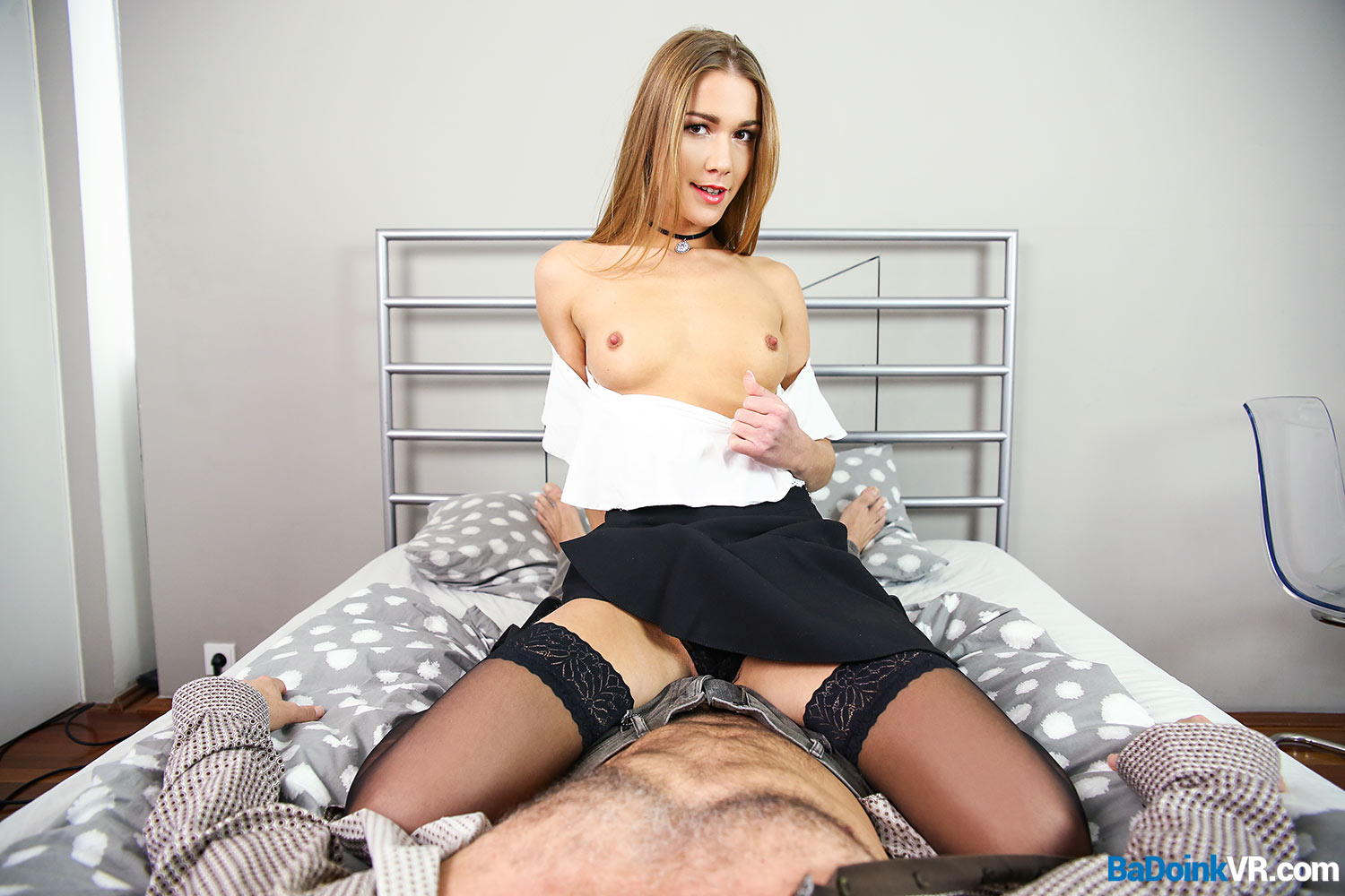 Horny chick great blowjob and hard pussy fucking 4