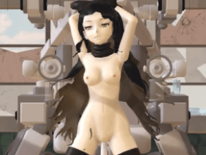 Blake on the Machine RWBY_Hentai vr porn video vrporn.com virtual reality